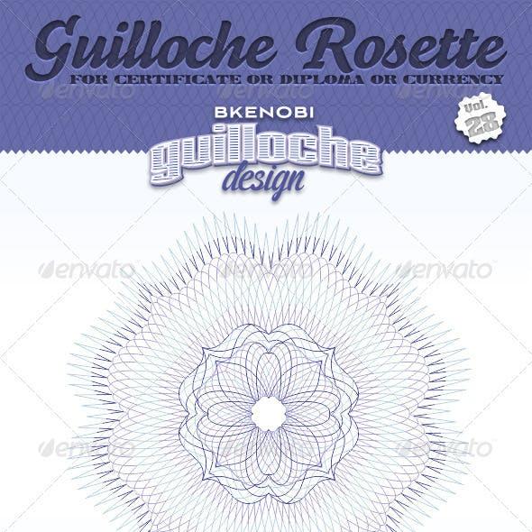 Guilloche Rosette Vol.28