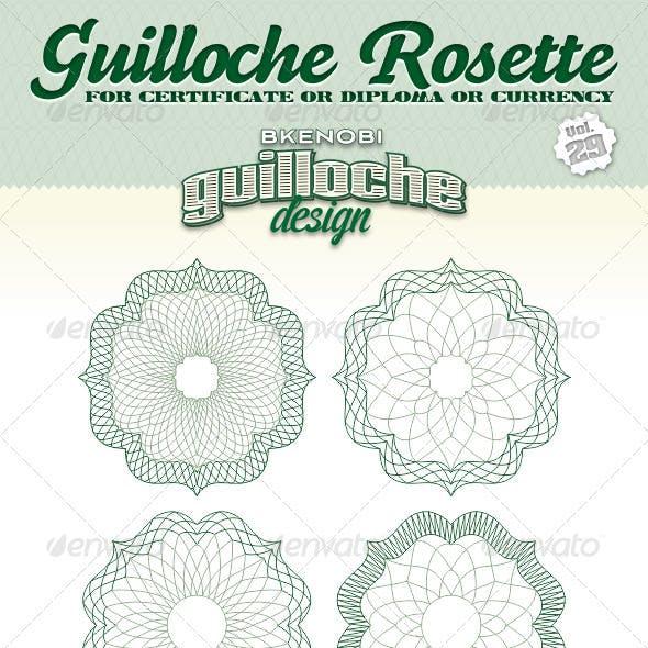 Guilloche Rosette Vol.29