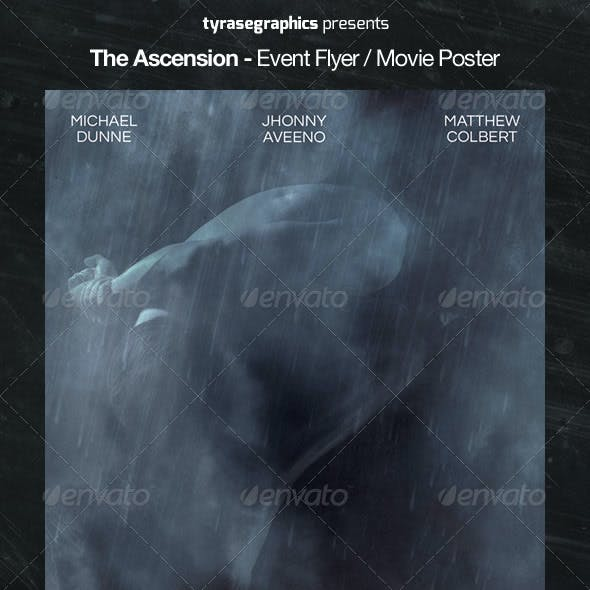The Ascension - Event Flyer / Movie Poster