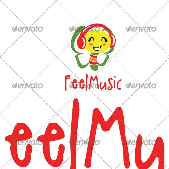 Feel Music Logo Template - Abstract Logo Templates