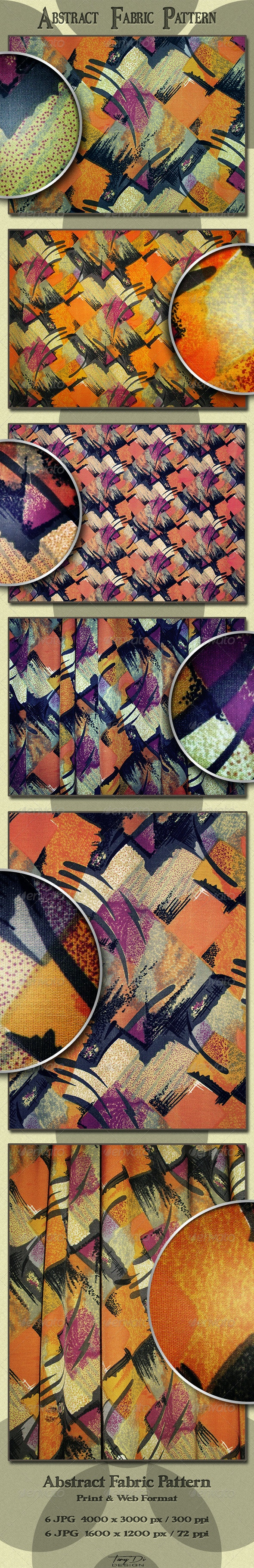 Abstract Fabric Pattern - Fabric Textures