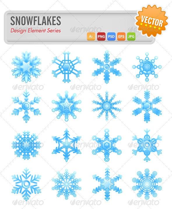 Snowflakes - Seasons/Holidays Conceptual
