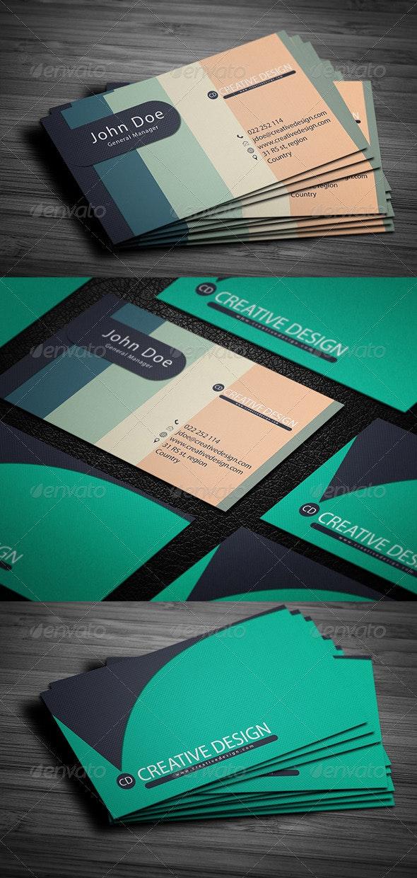 Creative Design Business Card - Creative Business Cards