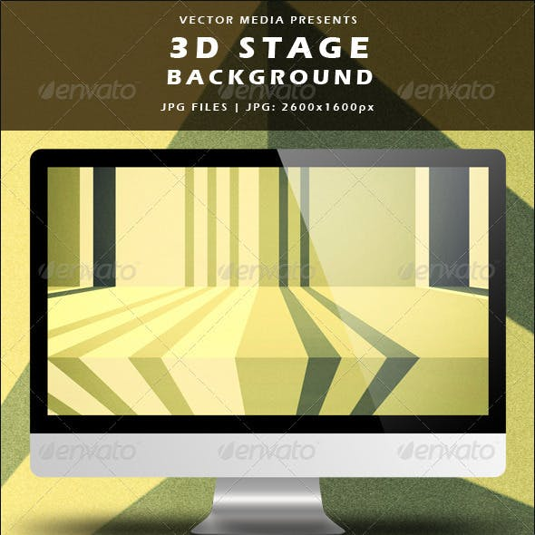 3D Stage Background