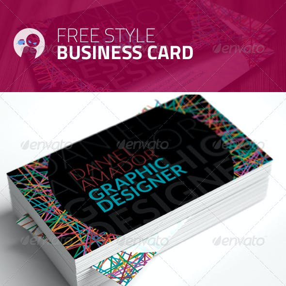 Free Style - Business Card