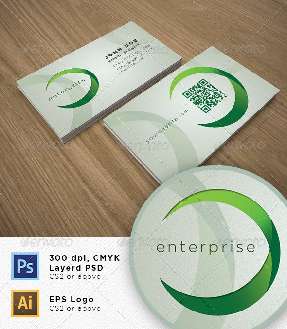 Elegant Bussines Card - Corporate Business Cards