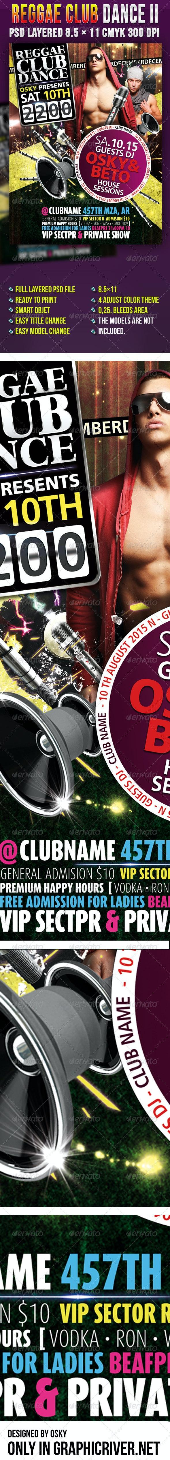 Reggae Club Dance II - Clubs & Parties Events