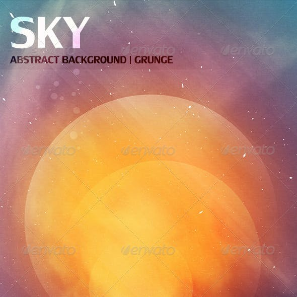 SKY Abstract Background | Grunge