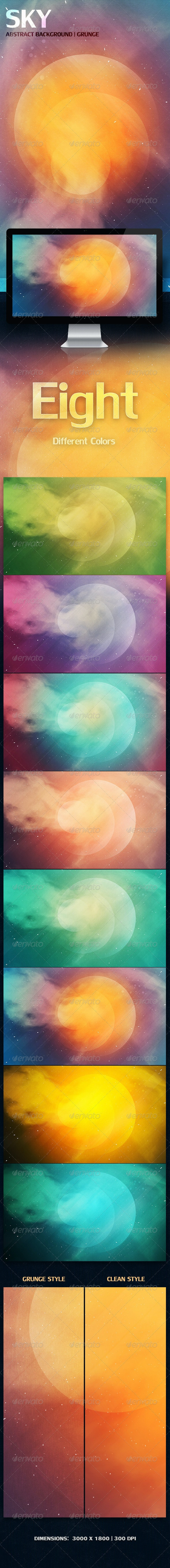 SKY Abstract Background | Grunge - Abstract Backgrounds