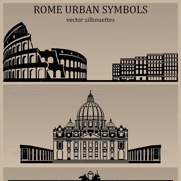Rome Urban Symbols
