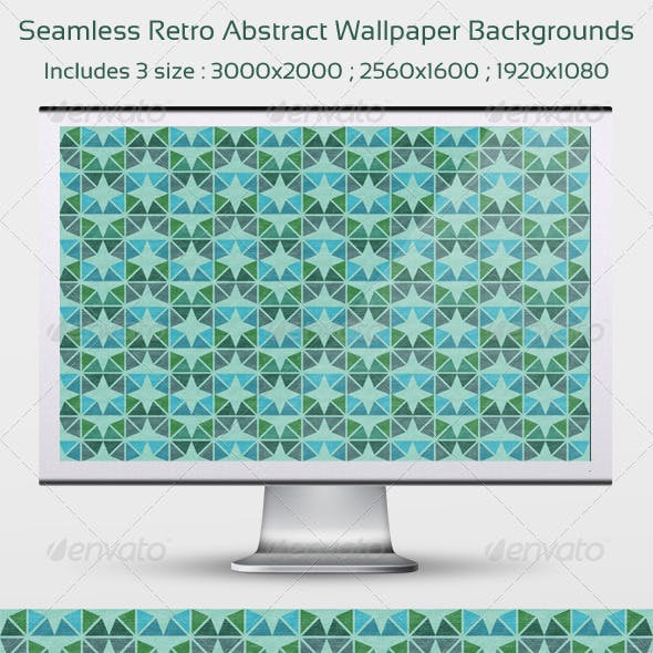 Seamless Retro Abstract Wallpaper Backgrounds