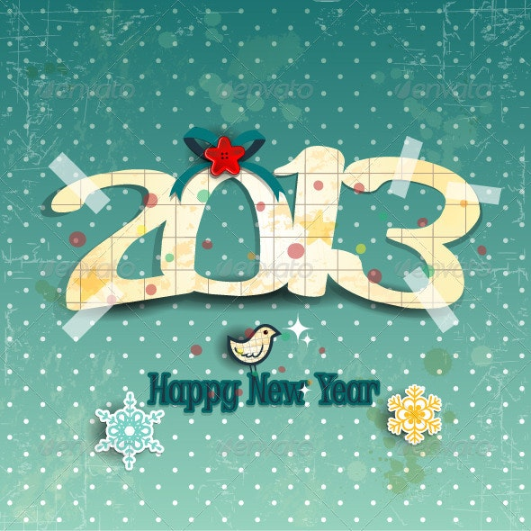Paper and Decorations 2013 - New Year Seasons/Holidays