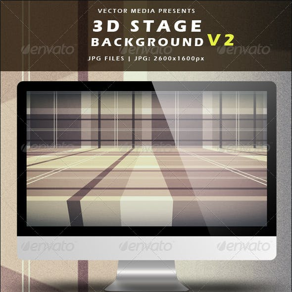 3D Stage Background - Vol.2