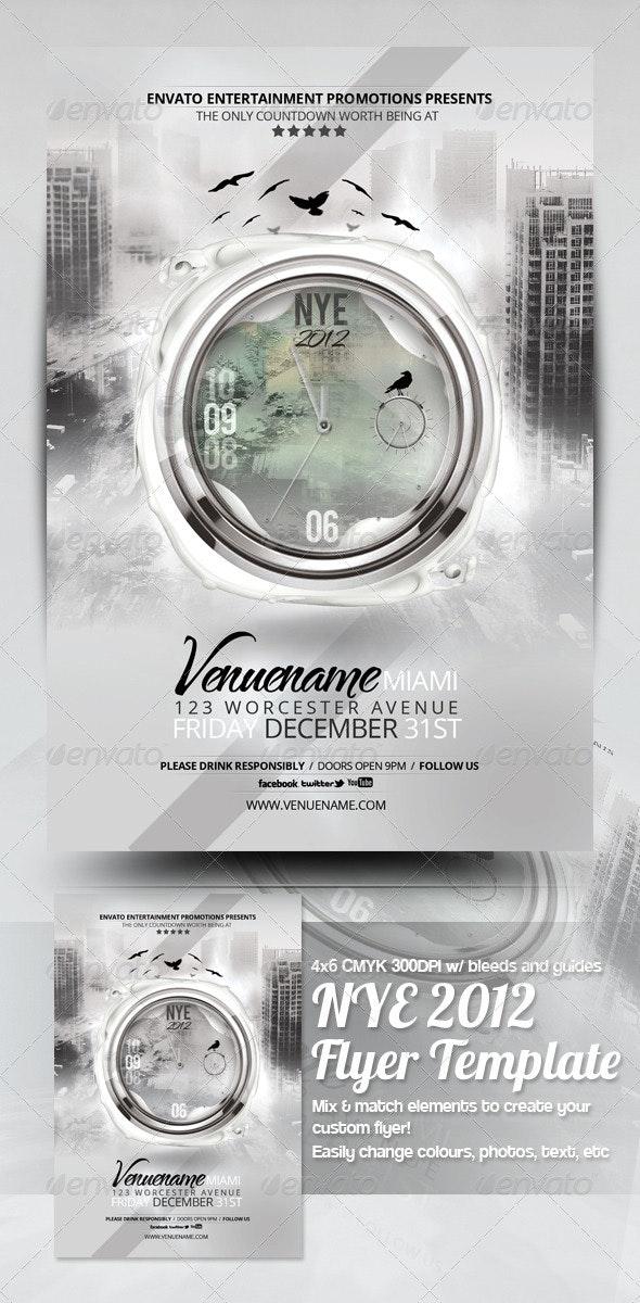 Apocalypse NYE 2014 Flyer Template - Events Flyers
