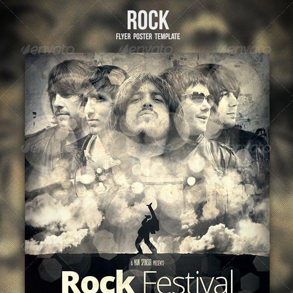 Rock Flyer / Poster 3