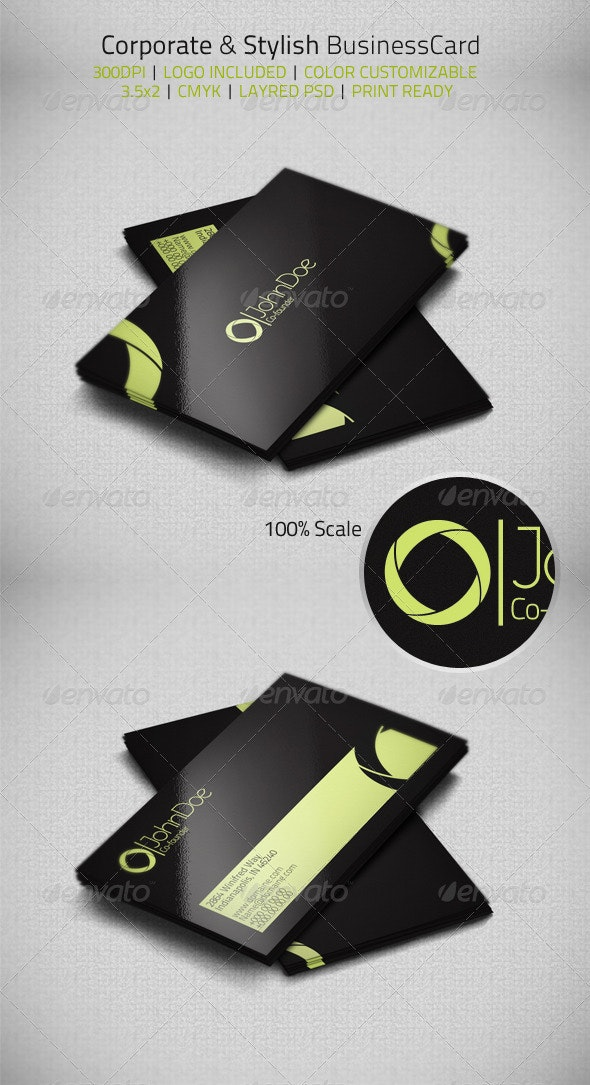 Corporate & Stylish Businesscard - Corporate Business Cards