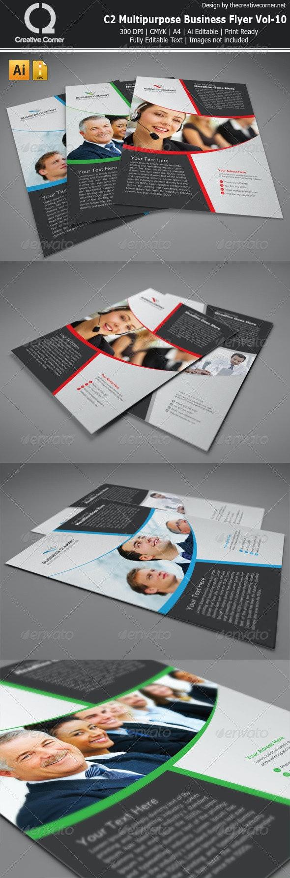 C2 Multipurpose Business Flyer Vol-10 - Corporate Flyers
