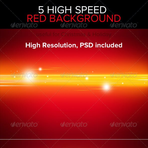 High Speed Red Backgrounds