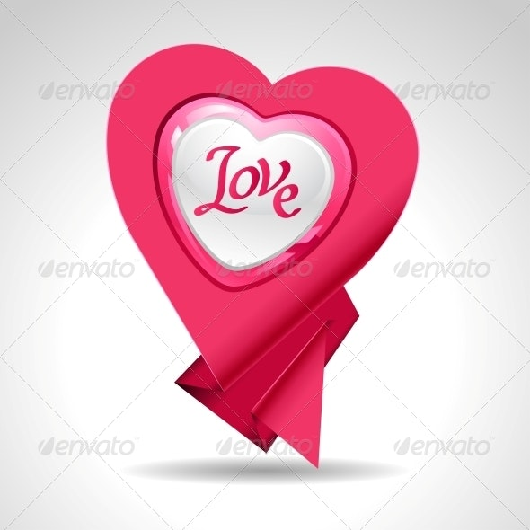 Valentine's Day Vector Background - Valentines Seasons/Holidays