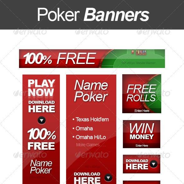 Poker Web Banners