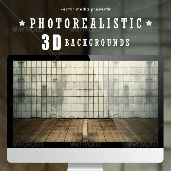 Photorealistic 3D Backgrounds