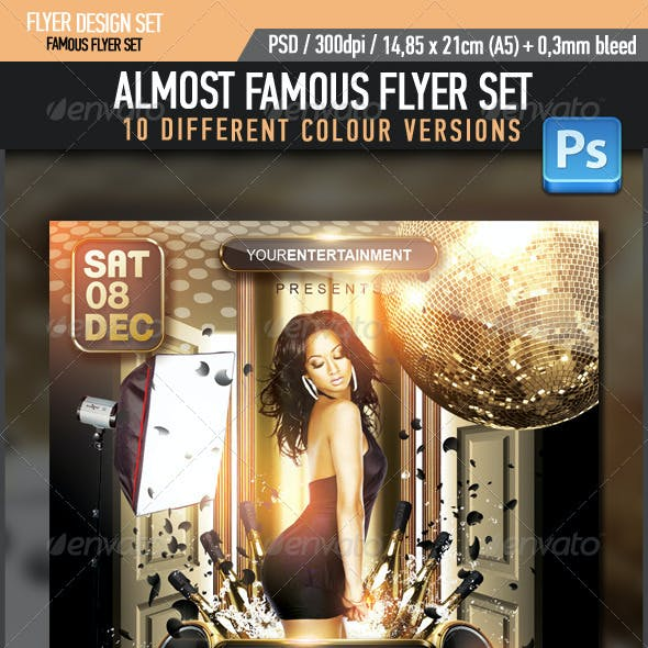 Almost Famous Flyer