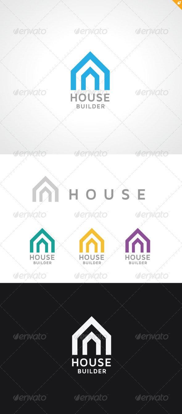House Builder Logo  - Buildings Logo Templates