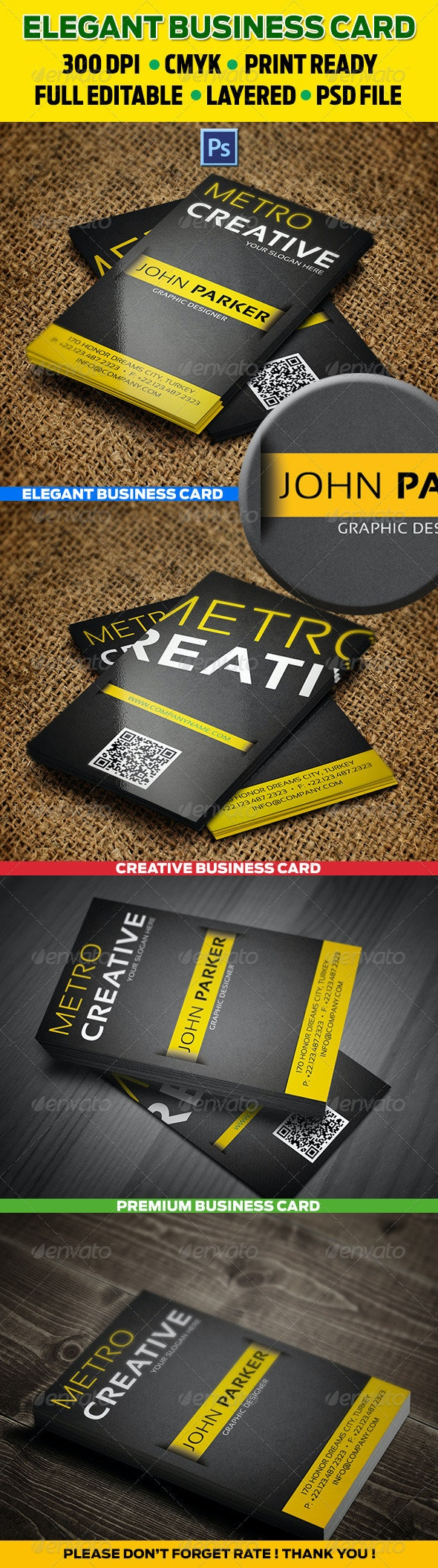 Creative Business Cards 24 - Corporate Business Cards