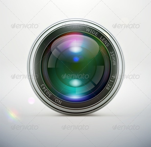 Camera Lens - Man-made Objects Objects
