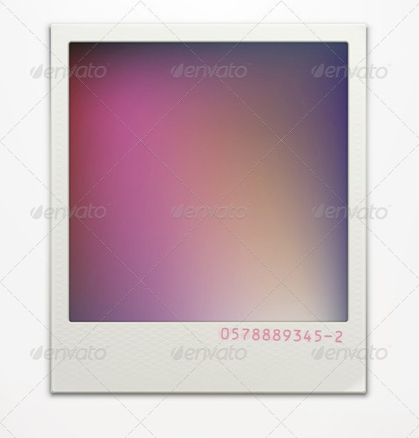 Polaroid Photo Frame - Borders Decorative