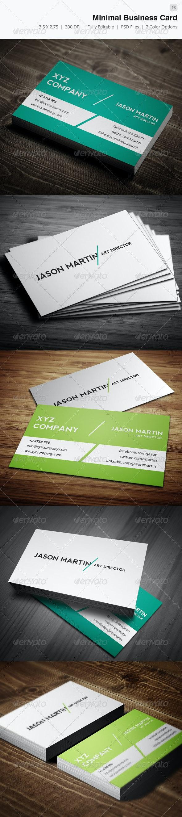 Minimal Business Card - 18 - Creative Business Cards