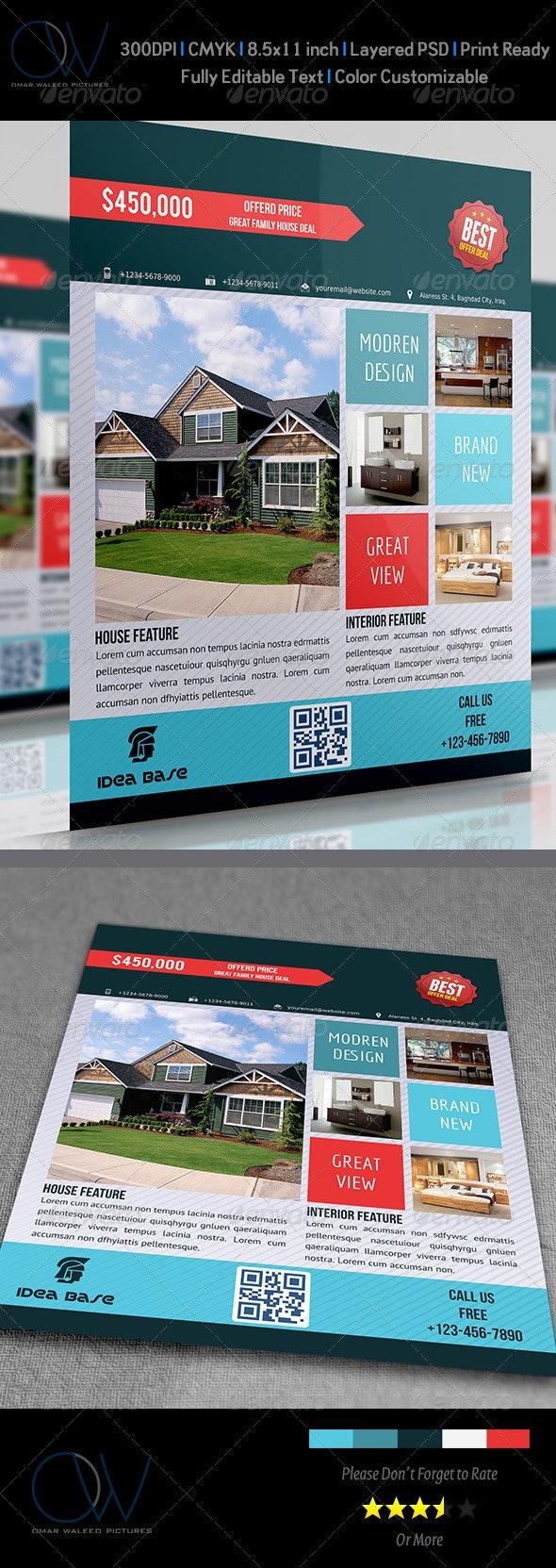 Real Estate Flyer Vol.2 - Commerce Flyers