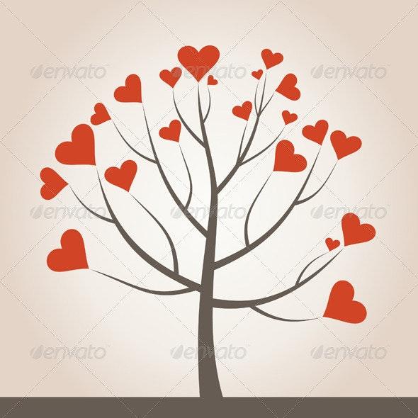 Love Tree - Flowers & Plants Nature