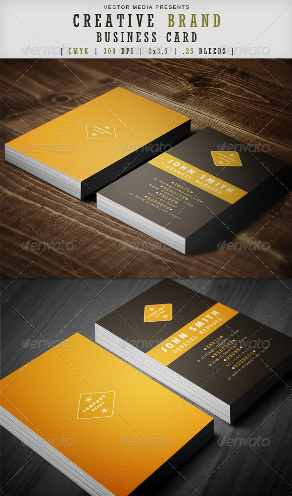 Creative Brand - Business Card - Creative Business Cards