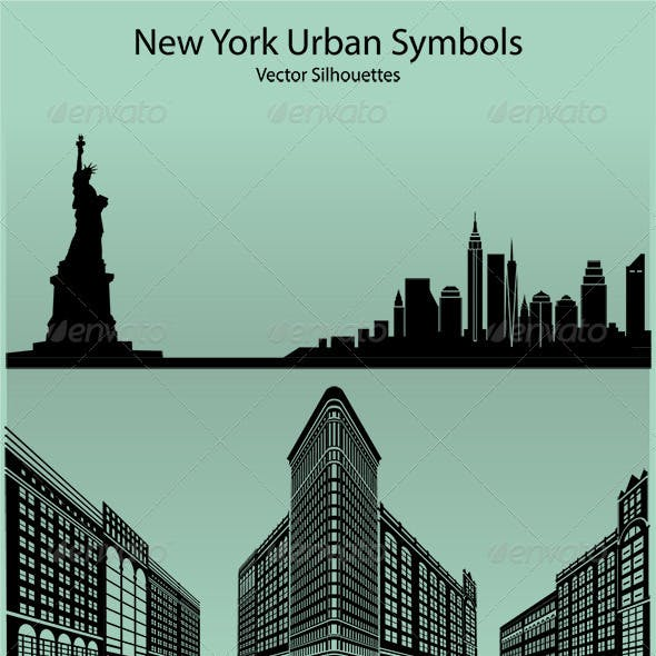 New York Urban Symbols