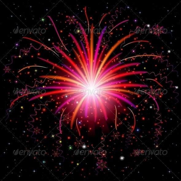 Firework - Decorative Symbols Decorative