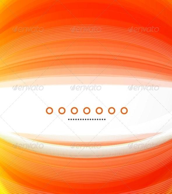 Abstract Orange Background - Backgrounds Decorative