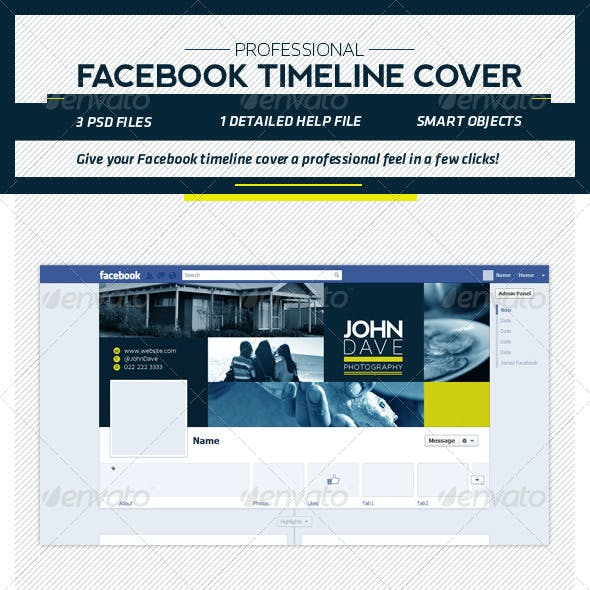 Professional FB Timeline Template