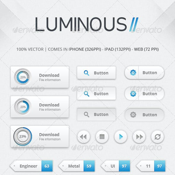 Luminous II UI Kit