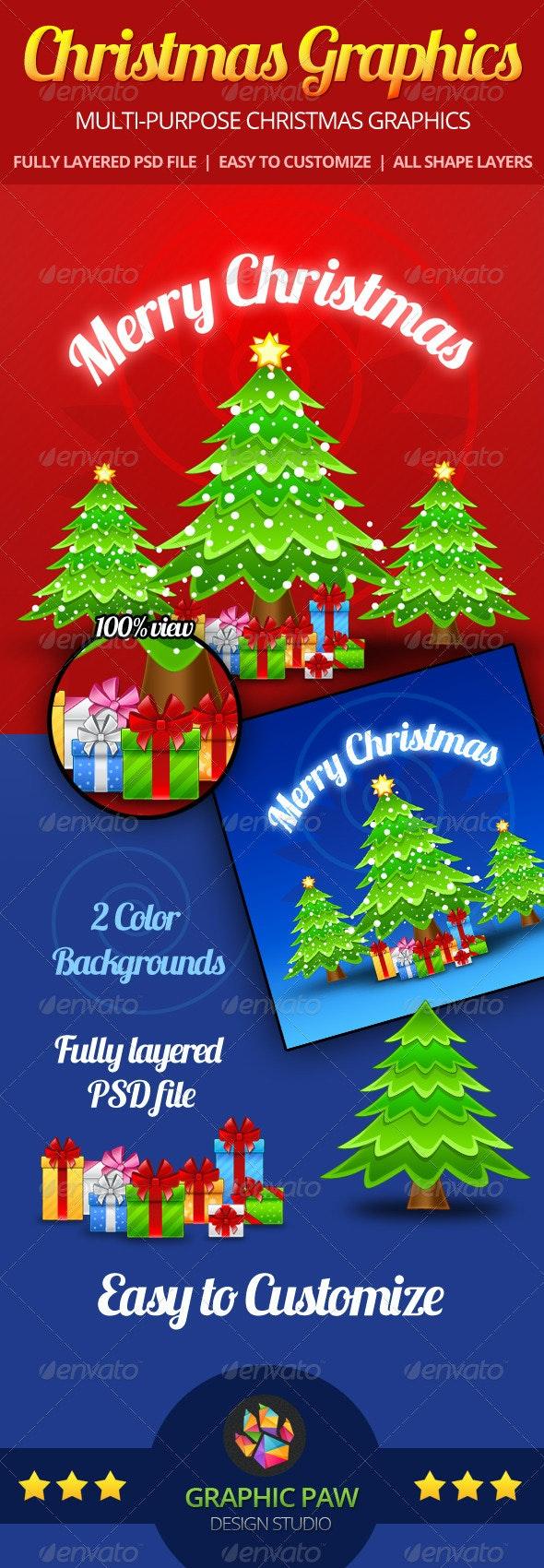 Christmas GFX Pack - Miscellaneous Graphics