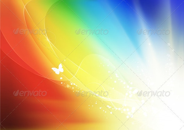Summer Abstract Background  - Backgrounds Decorative