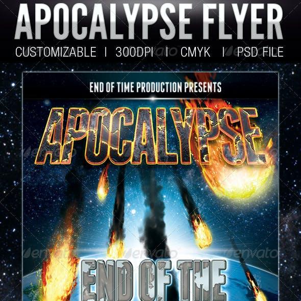 Apocalypse Flyer