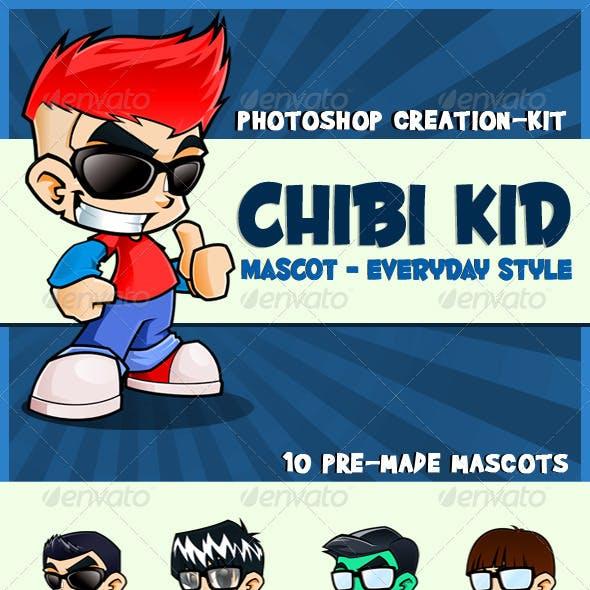 Chibi Kid Mascot - Everyday Style