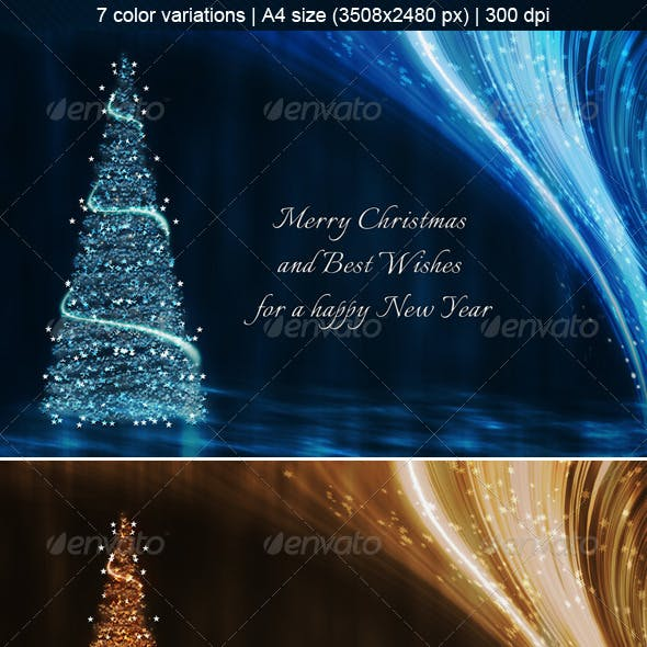 7 Christmas Backgrounds