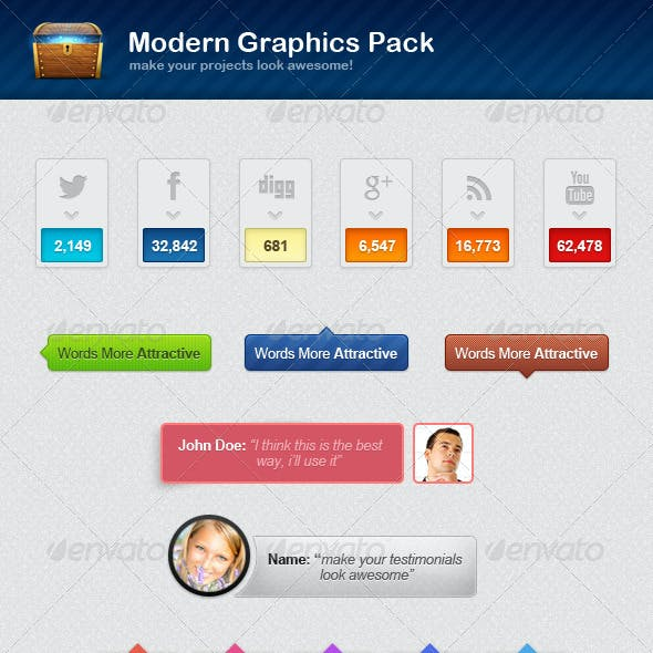 Modern Graphics Pack