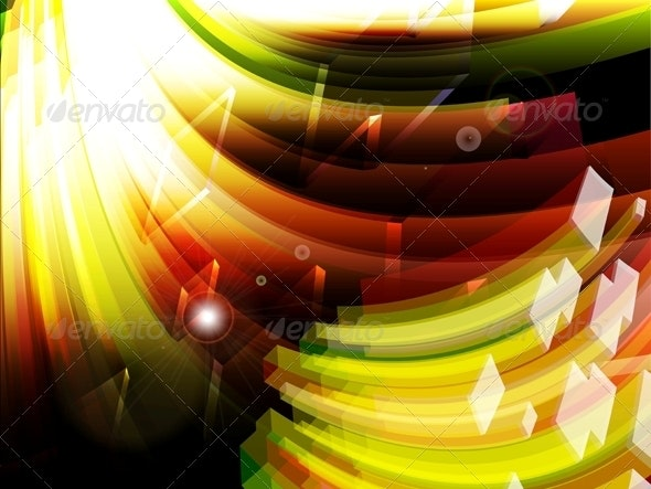 Abstract Technology Background Vector - Backgrounds Decorative