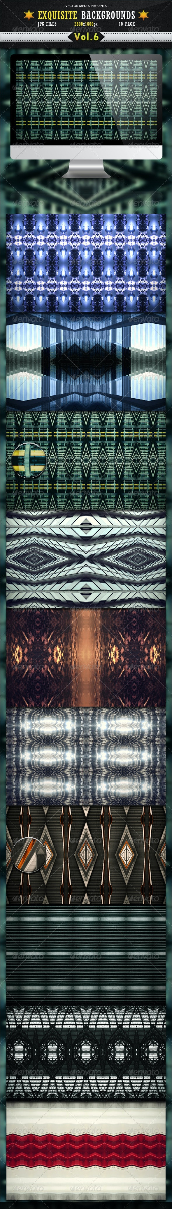 Exquisite Backgrounds - Vol 6 - Backgrounds Graphics