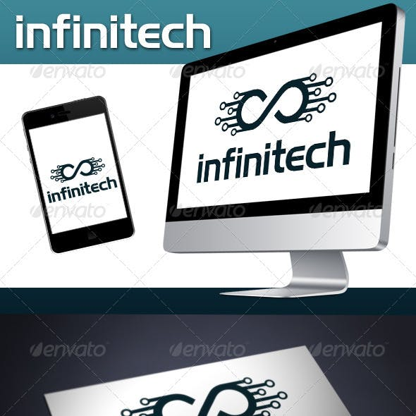 Infinite Tech (Infinitech) Logo Template