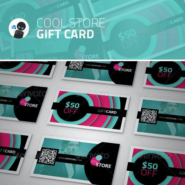 Cool Store - Gift Card