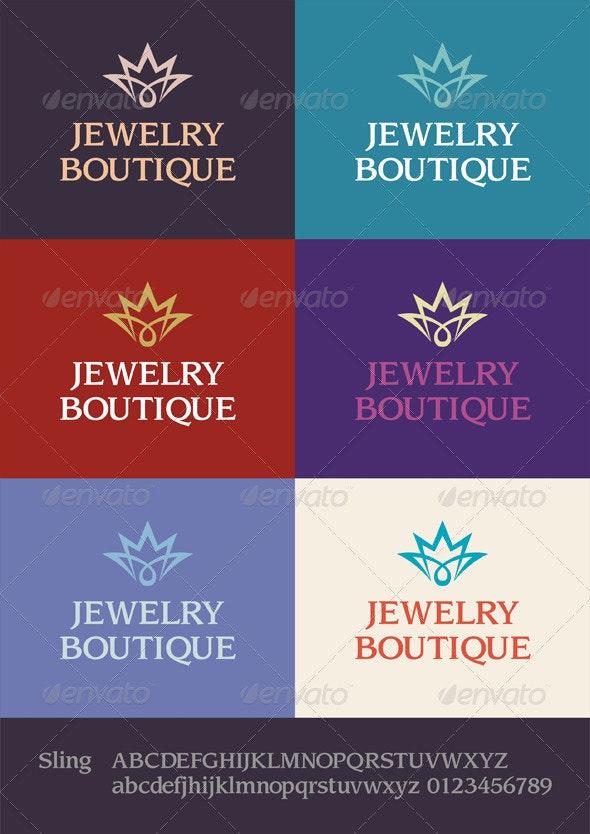 Jewelry Boutique Logo - Symbols Logo Templates